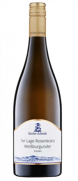 Chardonnay 1er Lage Rosen. 0,75l W Bercher-Schmidt