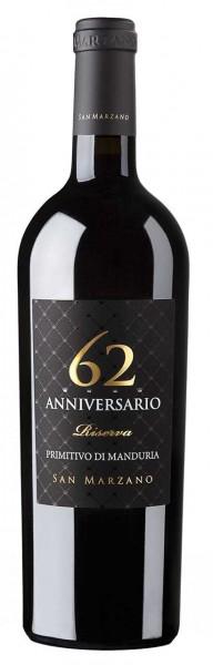 Anniversario 62 Riserva 0,75l R San Marzano