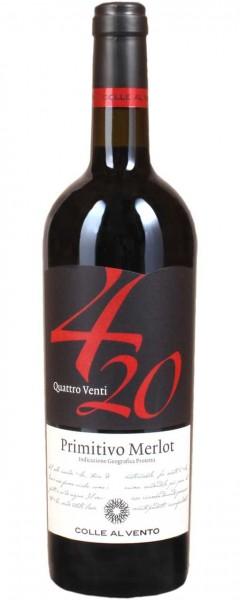 Primitivo Merlot 0,75l R 4/20 Colle al Vento