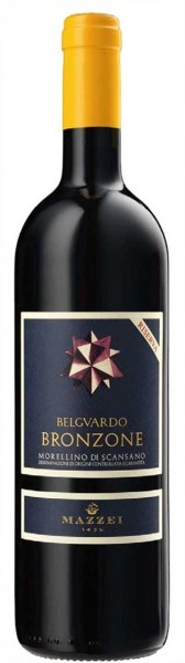 Bronzone Morellino d.S.Riserv. 0,75l R Tenuta Belguardo