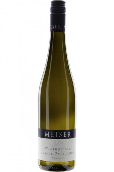 Grauer Burgunder 0,75l W Meiser Meiser