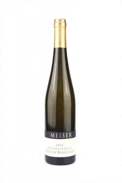 Weißer Burgunder Herrgotts. 0,75l W Meiser