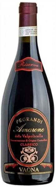 Pegrandi Amarone Riserva 0,75l R Vaona Odino